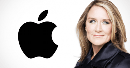 Apple's vice president Angela