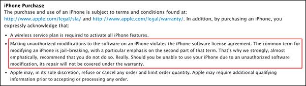 Apple-jailbreak-policy