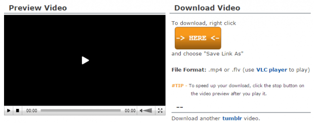 Download Tumblr Videos c