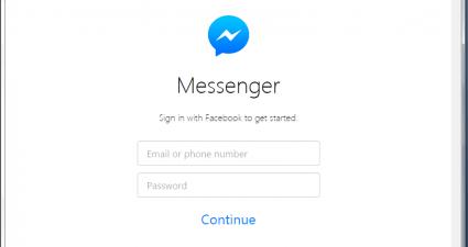 Facebook Messenger for Desktop d