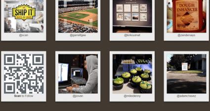Instagram to QR Codes e