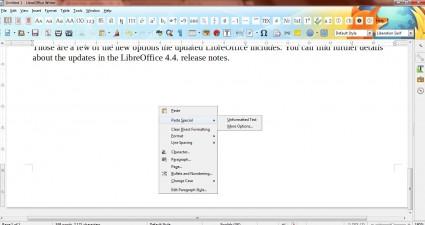 LibreOffice 4.44
