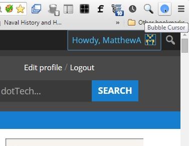 bubble cursor