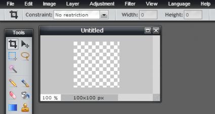 create a transparent icon online c