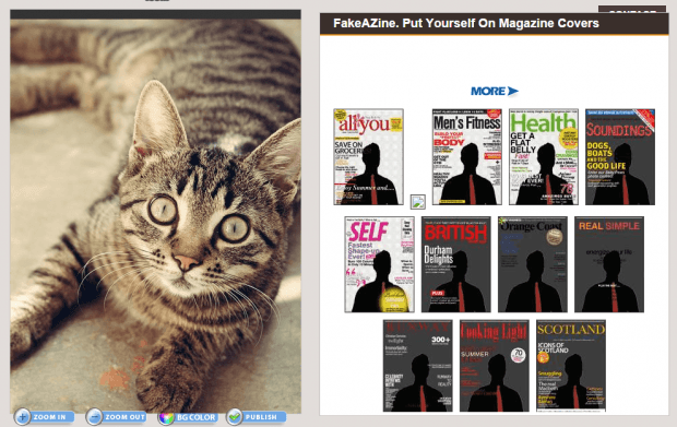 create fake magazine covers