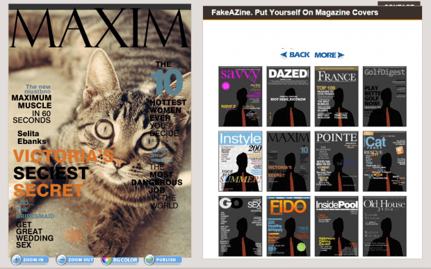 create fake magazine covers b