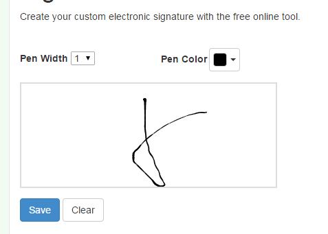 create online signature