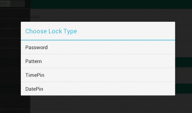 use time or date to lock apps Android