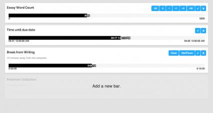 Chrome progress bar b