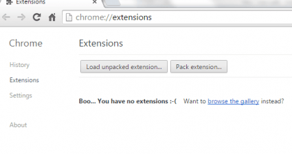 Install extensions manually in Chrome b