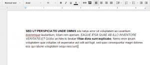 change case Google Docs c
