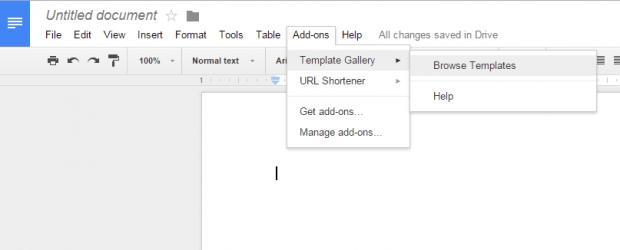 create resume Google Docs c