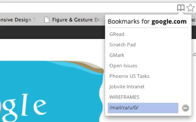 how to show 2 bookmark bars chrome