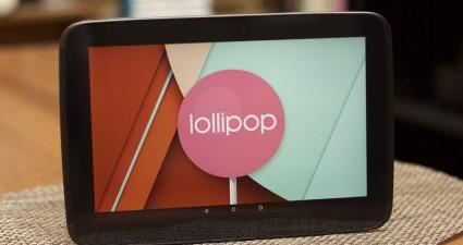 Nexus 10 Lollipop