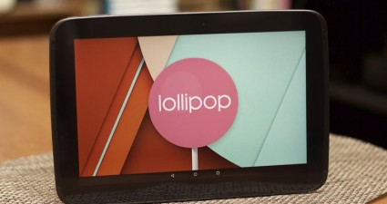 Nexus 10 Lollipop