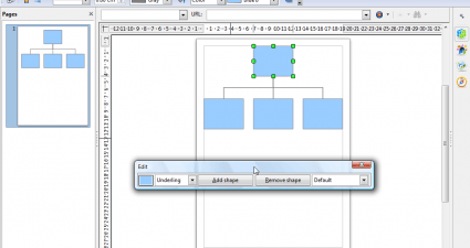 openoffice diagram2