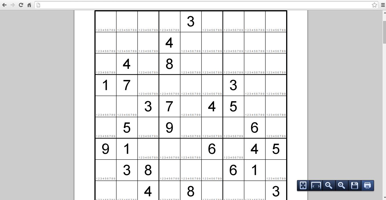 Very Easy Sudoku Printable print free Sudoku puzzles