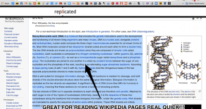 speed reading in Chrome b