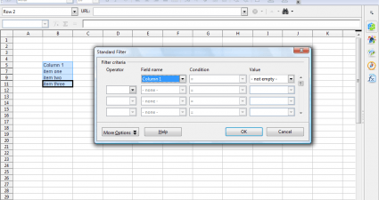spreadsheet filter4