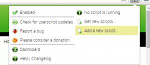 user script manager Chrome