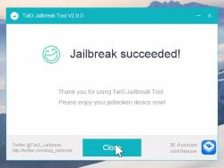 Jailbreak TaiG 2.0