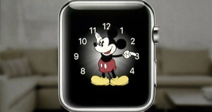 Apple Watch face Mickey Mouse
