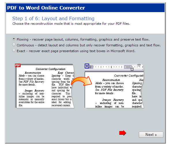 PDF to Word online