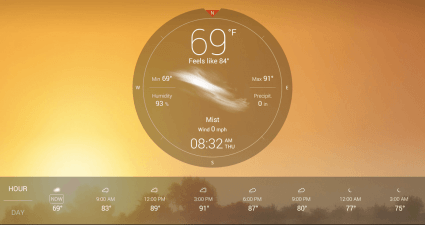 Weather Live with Widgets app for Android b