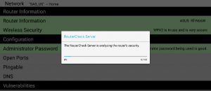 check home router Android b