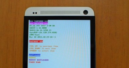 Fastboot HTC One