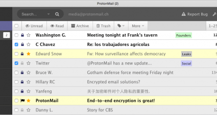 send encrypted emails ProtonMail