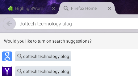 Highlight Google Search Words Firefox Android b