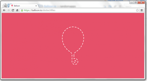 balloon share files dropbox c
