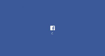 facebook loading icon