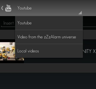 set YouTube video as alarm tone Android g