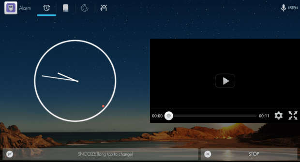 set YouTube video as alarm tone Android j