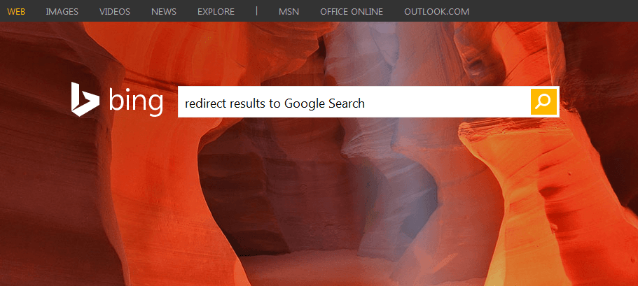 how to delete bing search from firefox