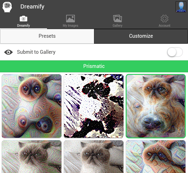 Dreamify app Android b