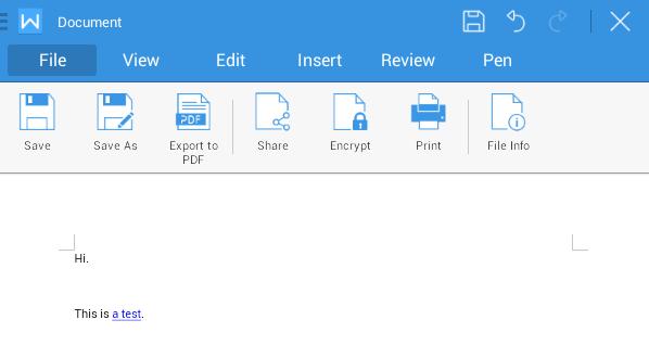 create PDF Android b