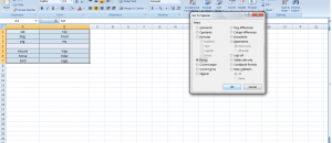 delete all blank rows Excel at once