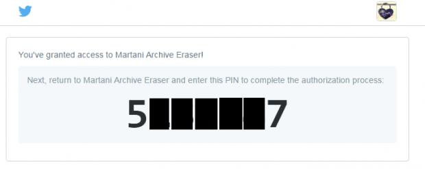 delete tweets Twitter Archive Eraser b