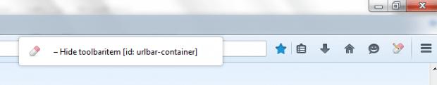 hide UI elements Firefox
