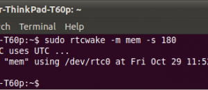 sleep-wake-rtcwake-worked