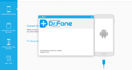 Wondershare Dr.Fone Android File Recovery