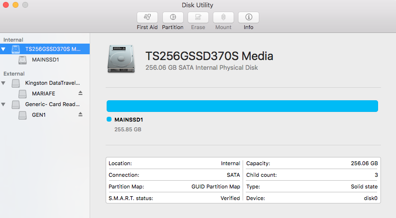 how to partition a hard drive mac terminal